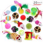 Pack de 20 Jouets Pour Chat